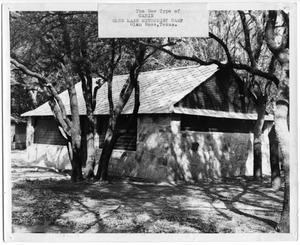 Primary view of object titled '[New Cabin at Glen Lake Methodist Camp]'.