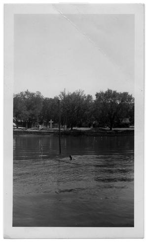 Primary view of object titled '[Photograph of Lake at Glen Lake Methodist Camp]'.