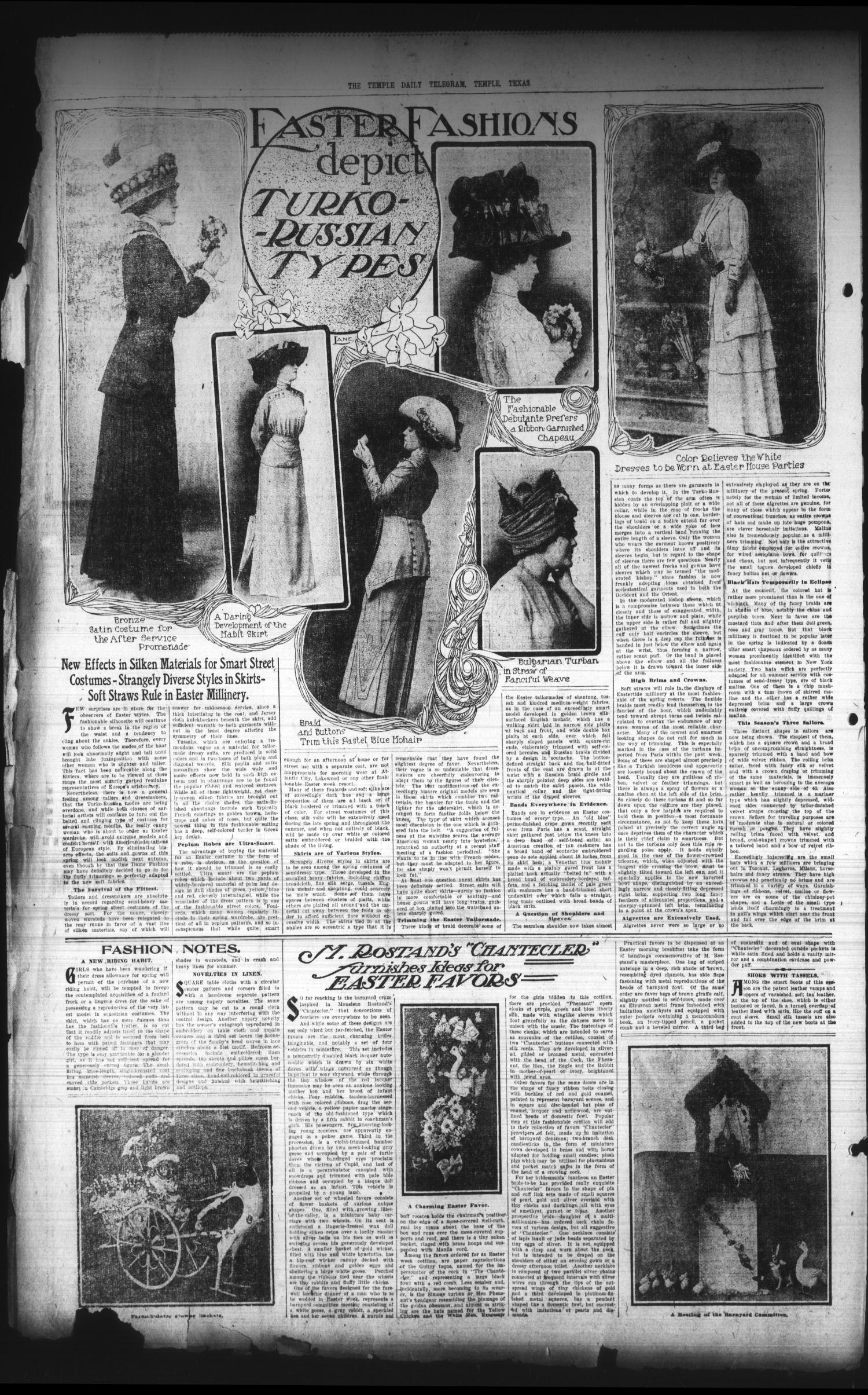 The Temple Daily Telegram  (Temple, Tex ), Vol  3, No  128, Ed  1