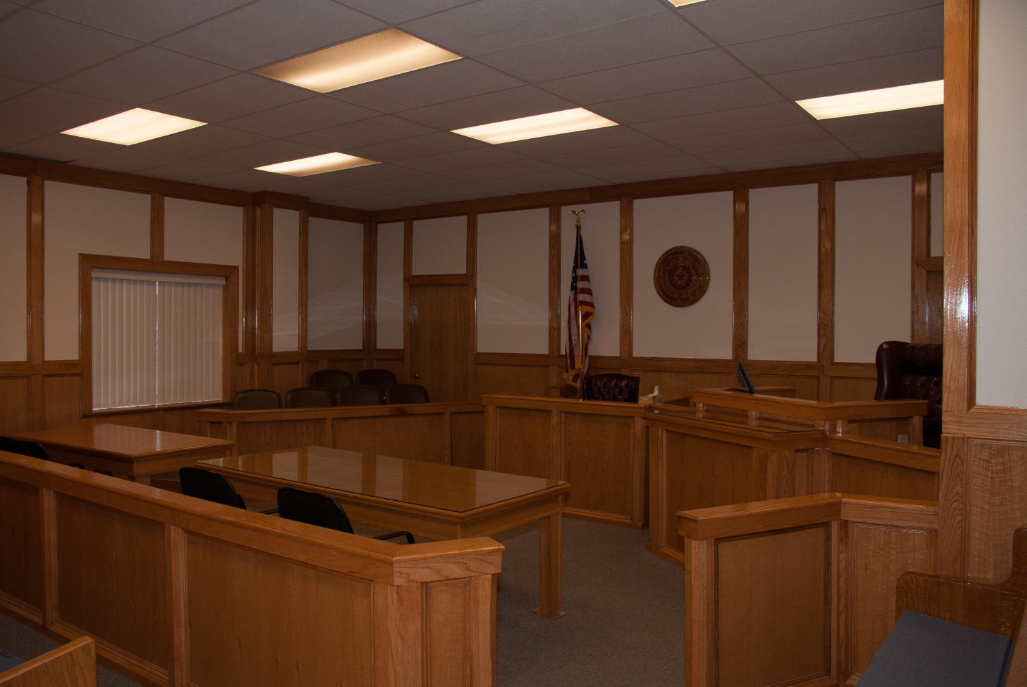 [Interior of a Courtroom]                                                                                                      [Sequence #]: 1 of 1