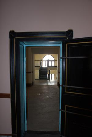 Primary view of object titled '[Looking Through an Open Door]'.