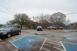 Primary view of object titled '[Cars in Parking Lot]'.