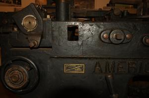Primary view of object titled '[Close-Up of a Machine]'.