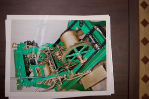 Primary view of object titled '[Photograph of Green Machine]'.