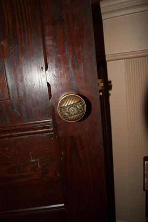 Primary view of object titled '[Photograph of a Door Knob]'.