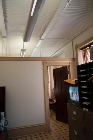 Primary view of object titled '[Open Door in an Office]'.