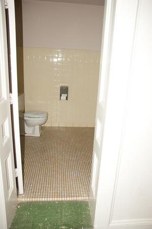 Primary view of object titled '[Photograph of a Bathroom]'.