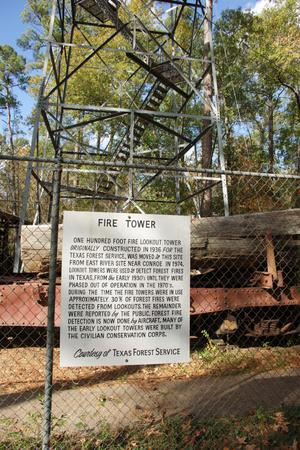 Primary view of object titled '[Fire Tower Sign]'.