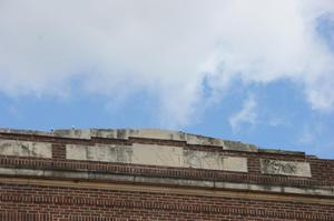 [Sign on Top of Building]