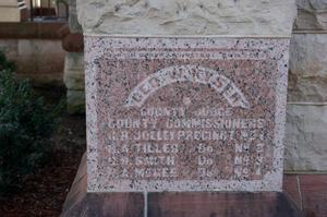 [Close-Up of Courthouse Cornerstone]