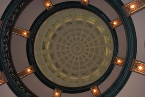 Primary view of object titled '[Photograph of Courthouse Rotunda]'.