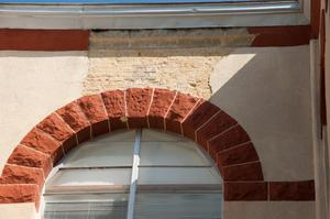 Primary view of object titled '[Arch Above Window]'.