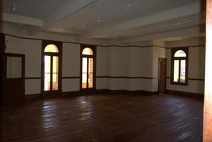 Primary view of object titled '[Photograph of an Empty Room]'.