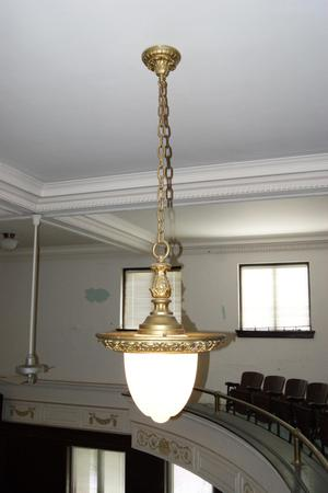 [Photograph of a Ceiling Lamp]