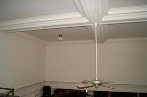 Primary view of object titled '[Photograph of a Ceiling Fan]'.