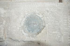 Primary view of object titled '[Seal Set in Concrete]'.