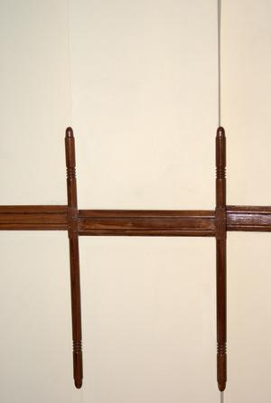 Primary view of object titled '[Wood Trim on Wall]'.