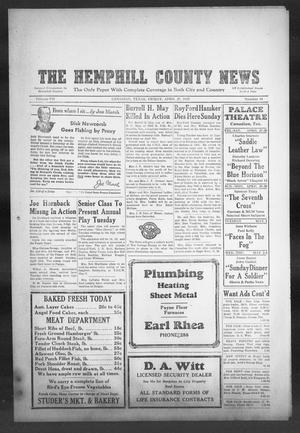 Primary view of object titled 'The Hemphill County News (Canadian, Tex), Vol. 7, No. 34, Ed. 1, Friday, April 27, 1945'.