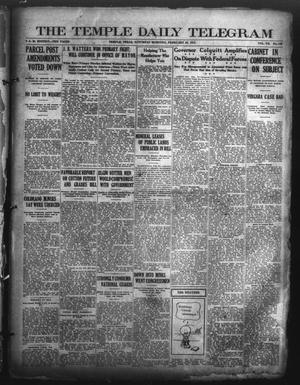 Primary view of object titled 'The Temple Daily Telegram (Temple, Tex.), Vol. 7, No. 100, Ed. 1 Saturday, February 28, 1914'.