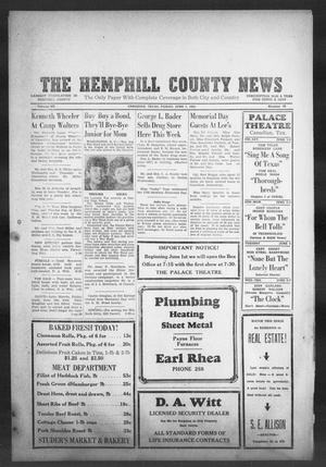 Primary view of object titled 'The Hemphill County News (Canadian, Tex), Vol. 7, No. 39, Ed. 1, Friday, June 1, 1945'.