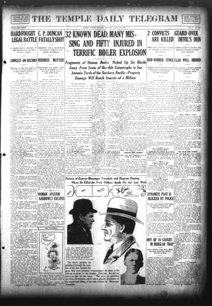 Primary view of object titled 'The Temple Daily Telegram (Temple, Tex.), Vol. 5, No. 104, Ed. 1 Tuesday, March 19, 1912'.
