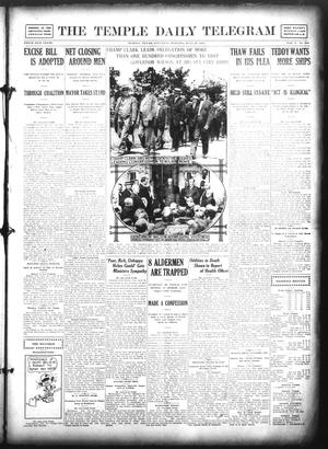 Primary view of object titled 'The Temple Daily Telegram (Temple, Tex.), Vol. 5, No. 216, Ed. 1 Saturday, July 27, 1912'.