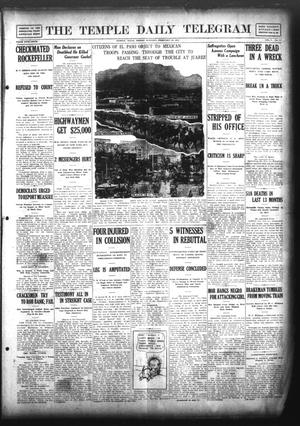 Primary view of object titled 'The Temple Daily Telegram (Temple, Tex.), Vol. 5, No. 77, Ed. 1 Friday, February 16, 1912'.
