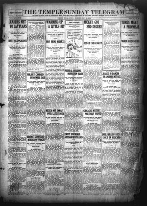 Primary view of object titled 'The Temple Daily Telegram (Temple, Tex.), Vol. 6, No. 30, Ed. 1 Sunday, December 22, 1912'.