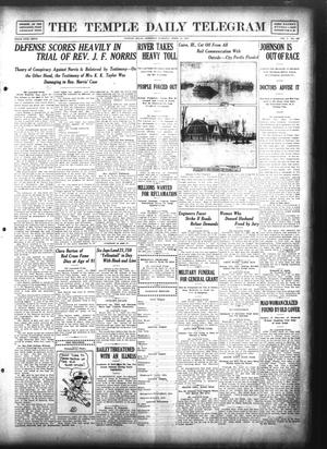 Primary view of object titled 'The Temple Daily Telegram (Temple, Tex.), Vol. 5, No. 126, Ed. 1 Saturday, April 13, 1912'.