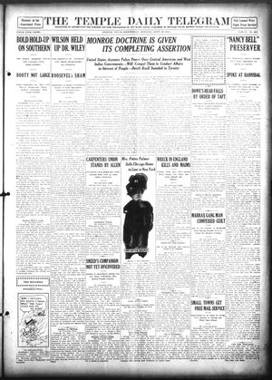 Primary view of object titled 'The Temple Daily Telegram (Temple, Tex.), Vol. 5, No. 261, Ed. 1 Wednesday, September 18, 1912'.