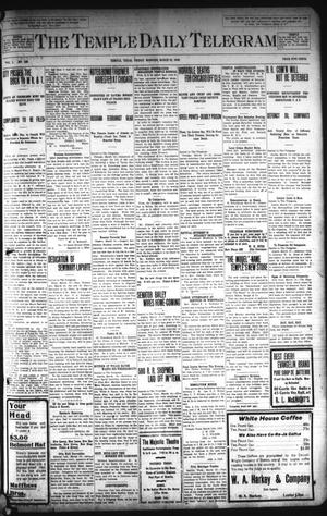Primary view of object titled 'The Temple Daily Telegram (Temple, Tex.), Vol. 1, No. 106, Ed. 1 Friday, March 20, 1908'.