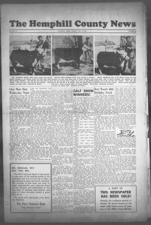 Primary view of object titled 'The Hemphill County News (Canadian, Tex), Vol. 10, No. 25, Ed. 1, Friday, February 27, 1948'.
