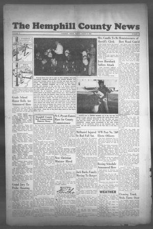 Primary view of object titled 'The Hemphill County News (Canadian, Tex), Vol. 10, No. 26, Ed. 1, Friday, March 5, 1948'.