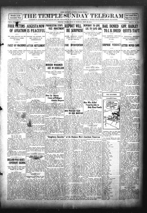 Primary view of object titled 'The Temple Daily Telegram (Temple, Tex.), Vol. 5, No. 271, Ed. 1 Sunday, September 29, 1912'.