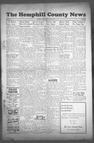 Primary view of object titled 'The Hemphill County News (Canadian, Tex), Vol. 10, No. 37, Ed. 1, Friday, May 21, 1948'.