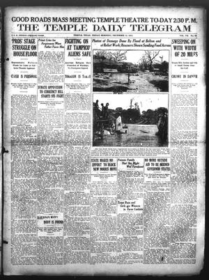 Primary view of object titled 'The Temple Daily Telegram (Temple, Tex.), Vol. 7, No. 23, Ed. 1 Friday, December 12, 1913'.