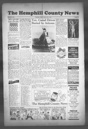 The Hemphill County News (Canadian, Tex), Vol. 11, No. 17, Ed. 1, Friday, December 31, 1948