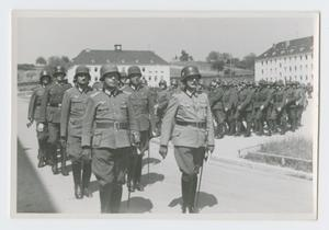 Primary view of object titled '[Soldiers Marching]'.