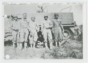 Primary view of [Five Soldiers by Half-Track]