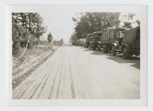 Primary view of object titled '[Convoy on Road]'.