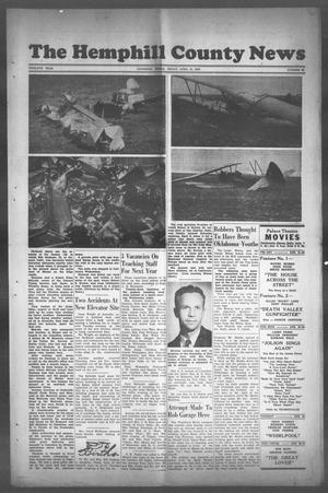 Primary view of object titled 'The Hemphill County News (Canadian, Tex), Vol. TWELFTH YEAR, No. 33, Ed. 1, Friday, April 21, 1950'.