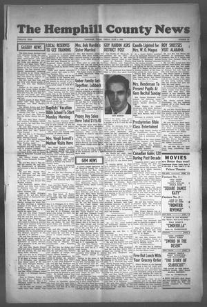 Primary view of object titled 'The Hemphill County News (Canadian, Tex), Vol. TWELFTH YEAR, No. 39, Ed. 1, Friday, June 2, 1950'.