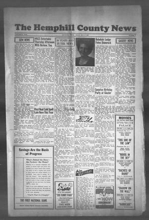 Primary view of object titled 'The Hemphill County News (Canadian, Tex), Vol. THIRTEENTH YEAR, No. 9, Ed. 1, Friday, November 3, 1950'.