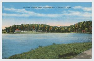 Primary view of object titled '[Postcard of a Lake]'.