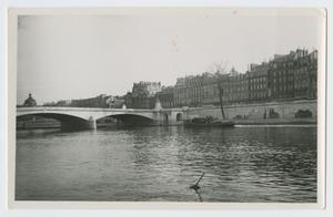 Primary view of [Bridge Over Seine River]