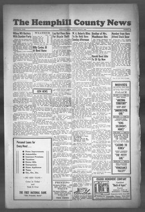 Primary view of object titled 'The Hemphill County News (Canadian, Tex), Vol. THIRTEENTH YEAR, No. 26, Ed. 1, Friday, March 2, 1951'.
