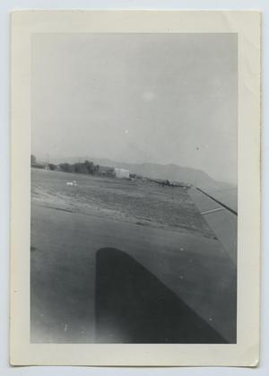 Primary view of object titled '[View from Airplane Window]'.