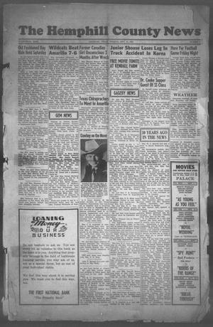 The Hemphill County News (Canadian, Tex), Vol. FOURTEENTH YEAR, No. 1, Ed. 1, Tuesday, September 11, 1951