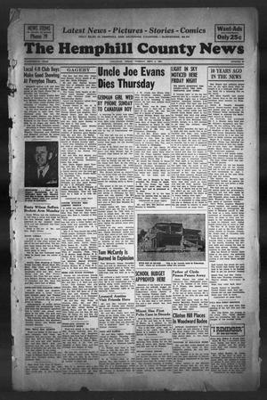 The Hemphill County News (Canadian, Tex), Vol. 14, No. 52, Ed. 1, Tuesday, September 2, 1952