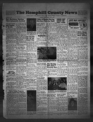 Primary view of object titled 'The Hemphill County News (Canadian, Tex), Vol. 15, No. 25, Ed. 1, Tuesday, February 24, 1953'.